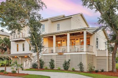 Mount Pleasant, Isle Of Palms, Daniel Island, Awendaw Single Family Home For Sale: 55 Seagrass Lane