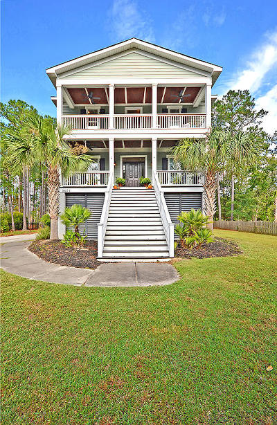 Single Family Home For Sale: 3654 Coastal Crab Road