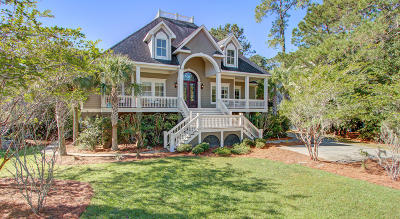 Johns Island Single Family Home For Sale: 1496 Headquarters Plantation Drive