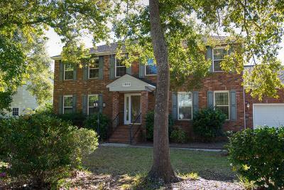 Mount Pleasant Single Family Home For Sale: 1553 Diamond Boulevard