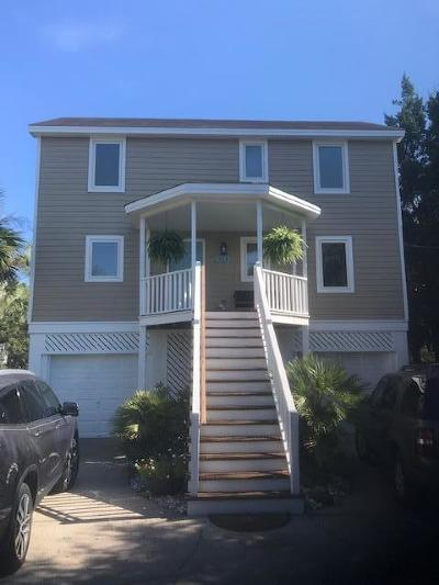 Isle Of Palms Single Family Home Contingent: 514 Carolina Boulevard
