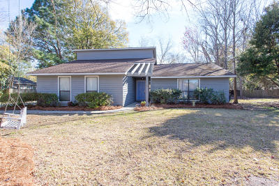 Mount Pleasant Single Family Home For Sale: 513 Upland Place
