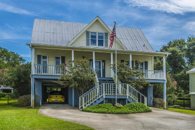 Isle Of Palms Single Family Home Contingent: 606 Palm Boulevard