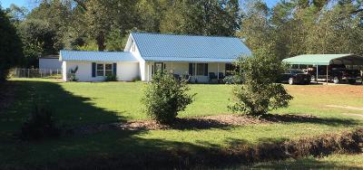 Walterboro Single Family Home Contingent: 1059 Jones Swamp Road