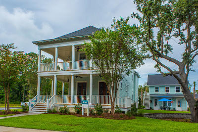 Hanahan Single Family Home For Sale: 5000 Evening Tide Drive