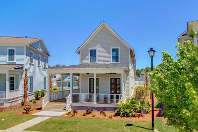 Hanahan Single Family Home For Sale: 4000 Evening Tide Drive