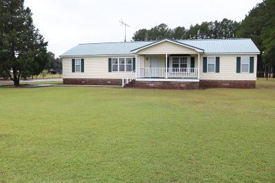 Walterboro Single Family Home For Sale: 1625 Maple Ridge Road