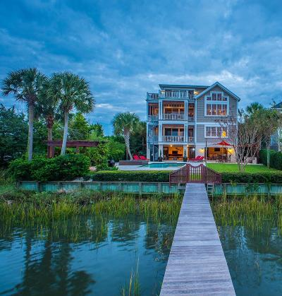 Isle Of Palms Single Family Home For Sale: 8 Intracoastal Court