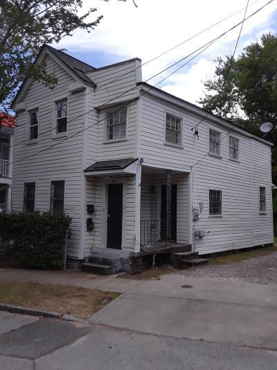 Charleston Single Family Home Contingent: 24 Jasper Street #24 &