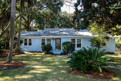 Isle Of Palms Single Family Home Contingent: 23 31st Avenue