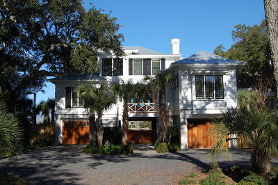 Isle Of Palms Single Family Home For Sale: 6 Whispering Palms