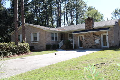 Walterboro Single Family Home For Sale: 147 Waverly Road
