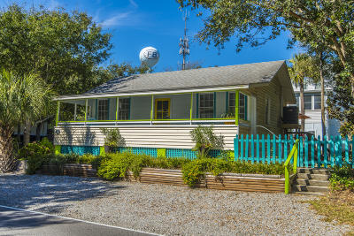 Folly Beach Single Family Home For Sale: 518 E Ashley Avenue