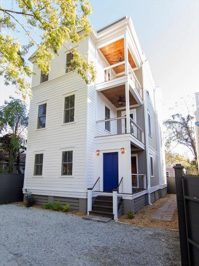 Charleston Single Family Home For Sale: 26 1/2 Line St