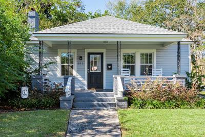 Charleston Single Family Home For Sale: 911 Ashley Avenue