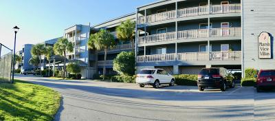 Folly Beach Attached For Sale: 162 Marsh View Villas #162