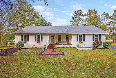 Awendaw Single Family Home Contingent: 7251 Getaway Path