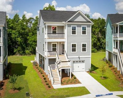 Charleston Single Family Home For Sale: 410 Topsail Court