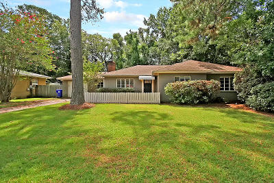 Charleston Single Family Home Contingent: 1315 S Sherwood Drive