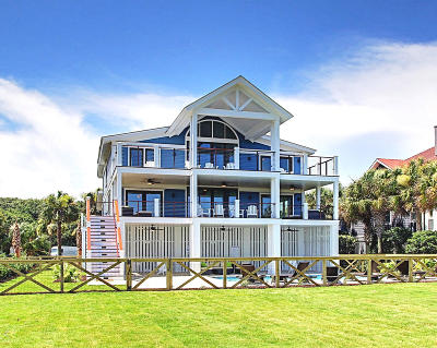 Isle Of Palms Single Family Home Contingent: 3900 Palm Boulevard