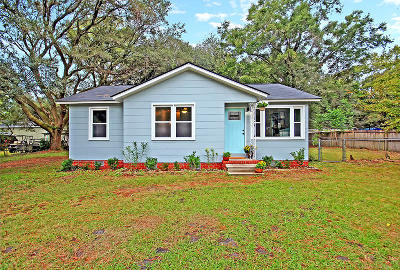 Johns Island Single Family Home Contingent: 1012 Summerall Road