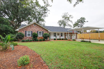 Mount Pleasant Single Family Home For Sale: 1265 Penny Circle Circle