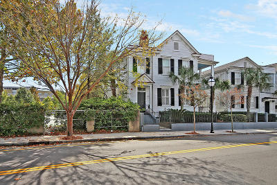 Charleston Single Family Home For Sale: 165 Spring Street #Abcd&amp