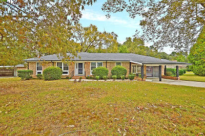 North Charleston Single Family Home Contingent: 8608 Vistavia Rd