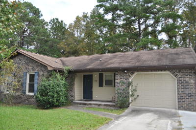 Goose Creek Single Family Home For Sale: 75 Burnt Mills Road
