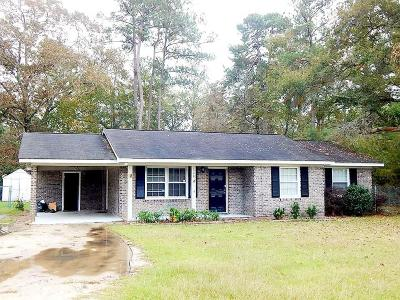 Walterboro Single Family Home For Sale: 1540 Sidneys Road
