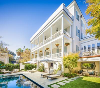 Charleston Single Family Home For Sale: 27 Lamboll Street