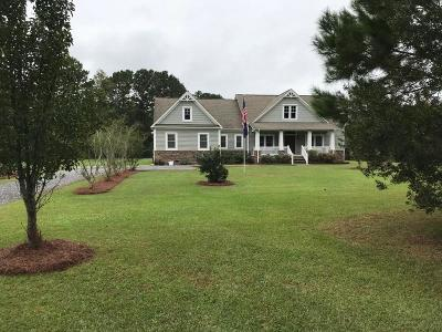 Awendaw Single Family Home For Sale: 4846 Causey Pond Road