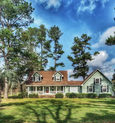 Ridgeville Single Family Home Contingent: 1468 Cypress Campground Road