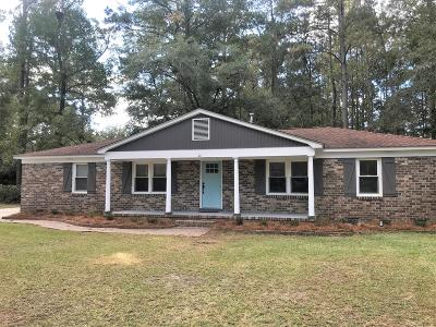 Walterboro Single Family Home For Sale: 401 Lynwood Road
