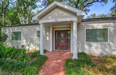 Single Family Home For Sale: 544 Fort Johnson Road