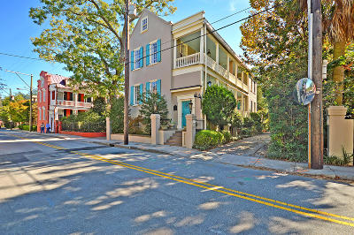 Charleston Single Family Home For Sale: 11 George Street
