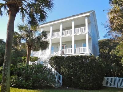 Folly Beach SC Single Family Home For Sale: $985,000