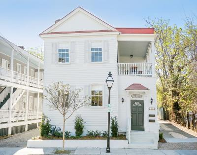 Charleston Single Family Home For Sale: 153 Spring Street