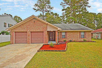 Ladson Single Family Home For Sale: 243 Tall Pines Road