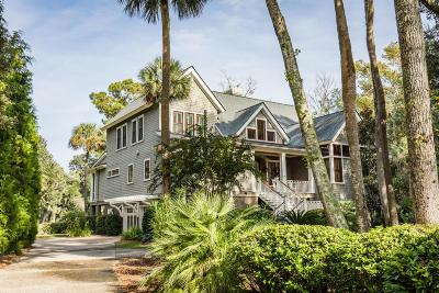 Charleston County Single Family Home For Sale: 3210 Privateer Creek Road