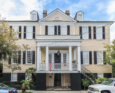 Charleston Single Family Home For Sale: 128 Bull Street #A&B