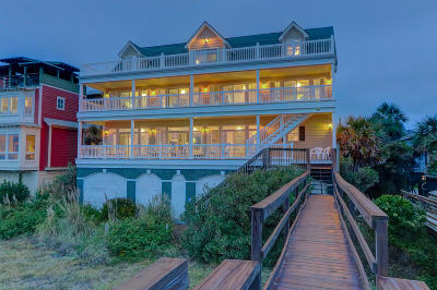 Folly Beach SC Single Family Home For Sale: $2,475,000