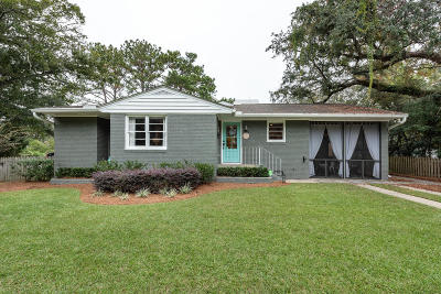 Mount Pleasant Single Family Home For Sale: 102 Live Oak Drive
