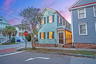 Charleston Single Family Home For Sale: 28 Jasper Street
