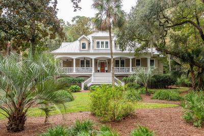 Johns Island Single Family Home For Sale: 3201 Privateer Creek Road
