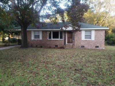 Charleston Single Family Home For Sale: 1328 Jeffords Street