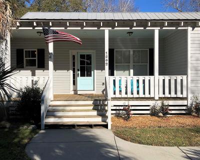 Charleston Single Family Home For Sale: 1542 Little Rock Boulevard