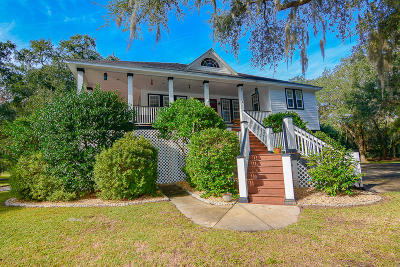 Johns Island Single Family Home For Sale: 2775 Bryans Dairy
