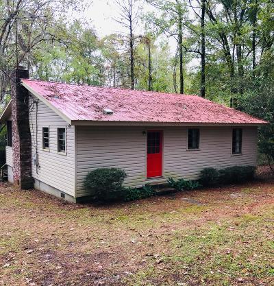 Walterboro Single Family Home For Sale: Chessey Creek Lane