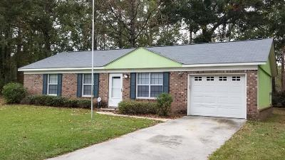 Summerville Single Family Home For Sale: 162 Braly Drive